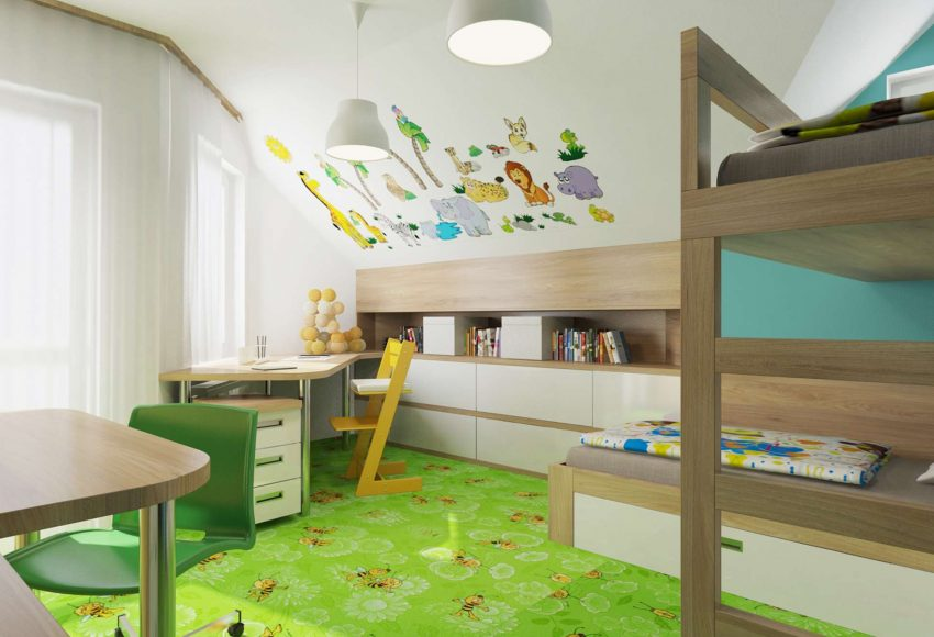 Dětský pokoj – rodinný dům